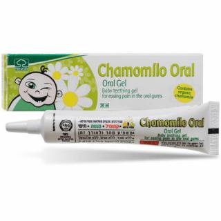 קמומילו אורל ג'ל לחניכיים לתינוקות Chamomilo Oral