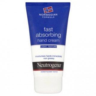 קרם ידיים ניוטרוג'ינה הנוסחה הנורבגית הנספג במהירות
