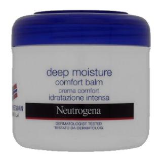 קרם לחות מרגיע לגוף ולפנים מסדרת Deep Moisture ניוטרוג'ינה הנוסחה הנורבגית