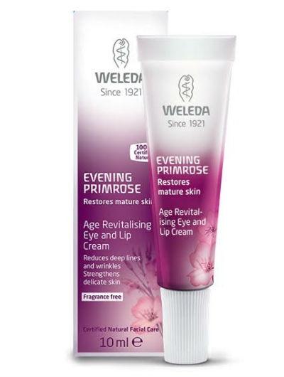 קרם עיניים ושפתיים נר הלילה וולדה Evening Primrose Eye & Lip Cream