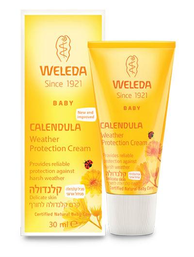 קרם קלנדולה לחורף וולדה Calendula Weather Protection Cream Weleda