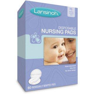 רפידות הנקה לנסינו חד פעמיות - אריזה מוגדלת Lansinoh Disposable Nursing Pads