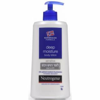 תחליב גוף מועשר לעור יבש ורגיש Neutrogena