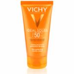 תחליב פנים לעור מעורב שמן להגנה מהשמש המעניק מראה מאט SPF 50 וישי