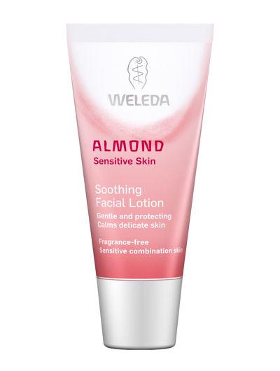 וולדה שקדים קרם לחות מרגיע לעור פנים עדין, רגיש וחסר לחות Weleda Almond Soothing Facial Lotion
