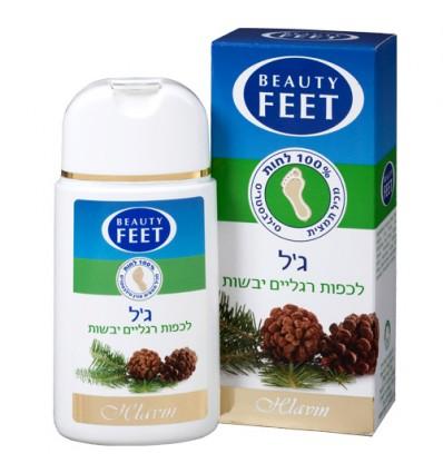 BEAUTY FEET ג'ל לכפות רגליים יבשות  ביוטי פיט