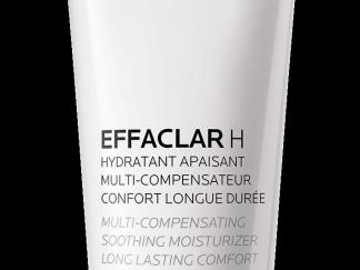 EFFACLAR H אפקלאר H  תחליב ניקוי לפנים לעור מיובש לה רוש פוזה
