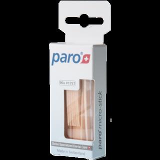 PARO 1751 קיסמי שיניים מעץ - דקים במיוחד  Micro Sticks