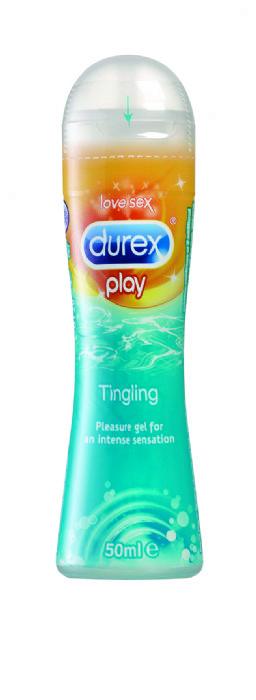 ג'ל סיכוך דורקס פליי ג'ל מדגדג Durex Play Tingling