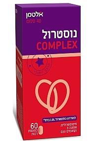 נוסטרול קומפלקס פיטוסטרולים  | ALTMAN NOSTEROL COMPLEX
