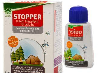 סטופר דוחה יתושים טבעי למבוגרים STOPPER