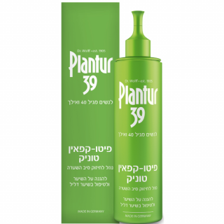 פיטו קפאין טוניק נוזל לטיפול בשיער דליל בנשים מגיל 40