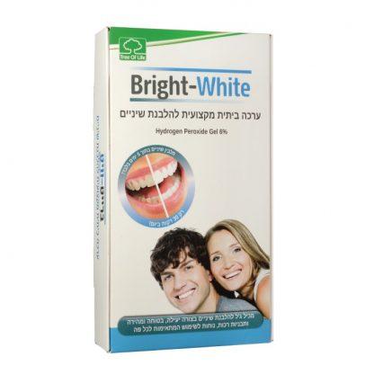 Bright White ערכת הלבנת שיניים ביתית מקצועית ברייט וויט