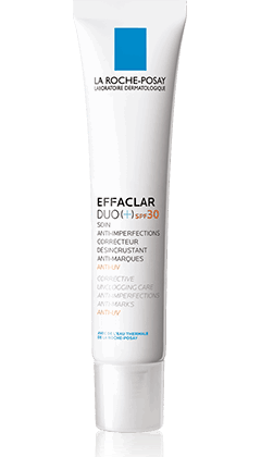 Effaclar Duo+ אפקלאר דואו+ לה רוש-פוזה להפחתת ומניעת פגמי עור עם  SPF30