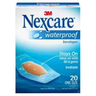 Nexcare פלסטר אטום ועמיד במים Waterproof Clear Protection