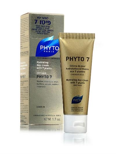 PHYTO 7 פיטו 7 קרם לחות טבעי ללא שטיפה לשיער יבש