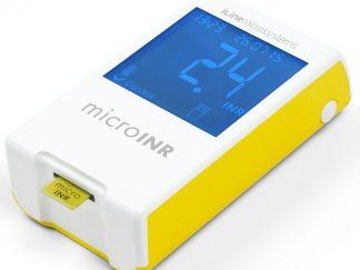 מד קרישה דם ביתי microINR