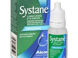 סיסטיין טיפות עיניים לסיכוך והרטבה SYSTANE DROPS