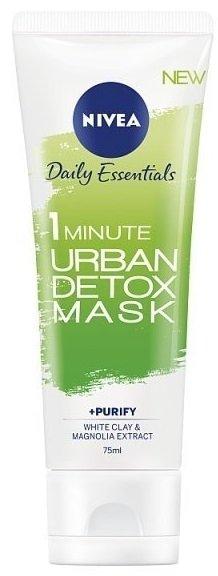 ניוואה אורבן מסכה לטיהור והגנה על עור הפנים Nivea Urban 1 Minute Mask