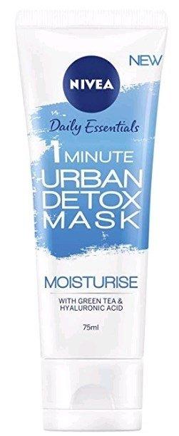 ניוואה אורבן מסכה מועשרת בתה ירוק וחומצה היאלרונית Nivea Urban 1 Minute Mask