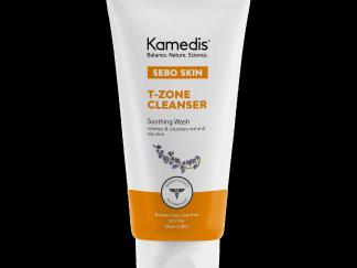 תרחיץ פנים טיפולי קמדיס לעור מגורה ואדמומי Sebo Skin T-zone Cleanser