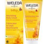קרם לחות קלנדולה לגוף להזנה והגנה לעור הגוף וולדה בייבי Weleda Calendula Body Cream
