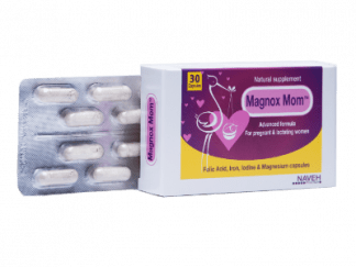 מגנוקס מאמ תוסף תזונה נוסחה מתקדמת לנשים הרות ומניקות Magnox Mom -