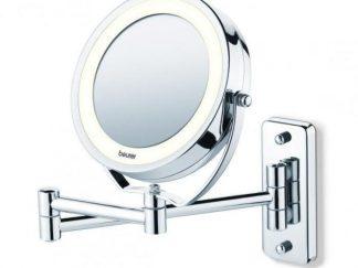 מראת איפור מגדילה לתלייה עם תאורת LED אחורית - Beurer - BS59
