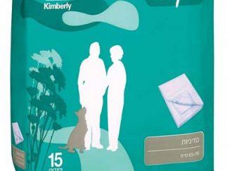 שקמה סדיניה חד פעמית לספיגת נוזלים Shikma Underpads מכיל 15 סדיניות