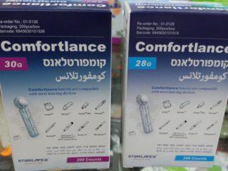 מחטים לבדיקת סוכר קומפורטלאנס - למכשיר קונטור וקונטור פלוס COMFORTLANCE